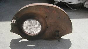 Porsche 356 a 1956 1957 Engine Cooling Fan Shroud Housing Vintage Genuine German