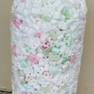 13.5 GALLONS OF UNICORN POO *USED* POPCORN PACKING PEANUTS FAST FREE SHIPPING $9.99