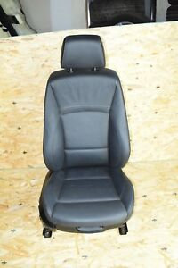 Bmw E90 Front Right Passenger Heated Sport Seat Chair Complete Black Oem