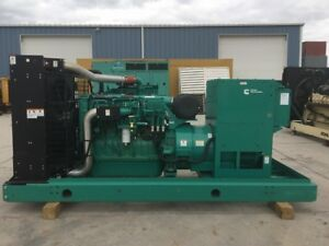 _350 Kw Cummins Onan Generator Dfeg Low Hours Qsx15 g9 Tested Clean Unit
