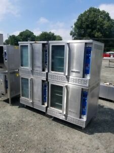 Double Deck Commercial Gas Convection Oven Gas