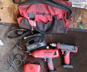 Snap On Battery Impact Gun And Drill