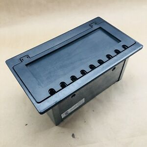 Irvine Large Electrical Floor Steel Box With Cover Five Gang