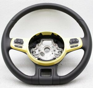 Oem Volkswagen Beetle Steering Wheel 5c0419091agb1b Yellow