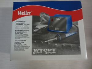 Weller Wtcpt 60 Watts 120v Temperature Controlled Soldering Station