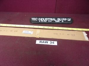 A2 A 2 Tool Steel 3 16 X 2 X 18 Flat Stock Oversize Air Hard New Raw34