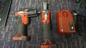 Snap on 14 4 Volt 1 4 Micro Lithium Ion Cordless Impact Ratchet Kit Ct725a
