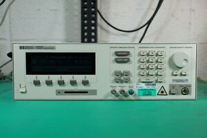 Hp 8168c Tunable Laser Source tested