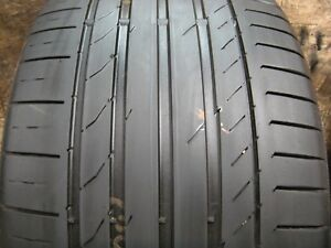 1 315 35 20 110w Continental Contisportcontact 5 Ssr Tire 4 5 5 32 1d10 1116