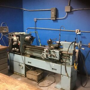 Nordic 15 Manual Lathe Machine used