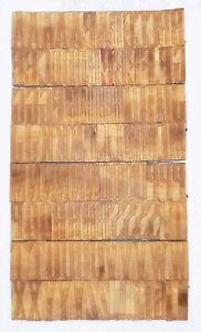112 Piece Vintage Letterpress Wood Wooden Type Printing Blocks 85 M m bc 1999