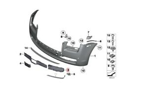 Rolls Royce Ghost Bumper Grill Set Left And Right Side
