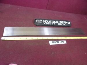 A2 A 2 Tool Steel Oversized Flat Stock 1 4 X 2 X 17 Raw40