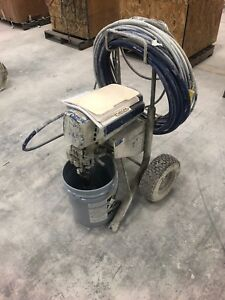 Graco Ultimate Mx Ii 1095 Electric Airless Paint Sprayer Hose And Contractor Gun