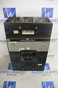 Map36600 Square D Map 600 Amp 600 Volt Panel Mount Circuit Breaker Tested