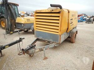 2012 Atlas Copco Xas750jd7it4 750 Cfm Portable Air Compressor