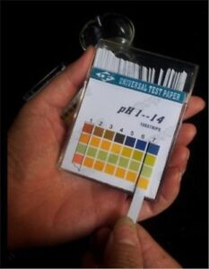 50pack lot Alkaline Ph Test Paper Strips Indicator Litmus Kit Testing Ph1 14 Xg