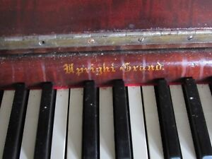 Vintage Reclaimed Antique Upright Piano Keys 1870 S Arts Crafts Repair