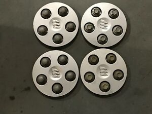 1 Set Buick Regal Century Center Caps Hubcaps 1997 2002 P N 09593601 Box9