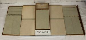 Rare Branded Coach Watch Jewelry Display Case Retail Pawn Shop Heavy 22 X 17