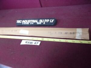 A2 A 2 Tool Steel Precision Ground Flat Stock 1 4 X 3 8 X 18 Raw47