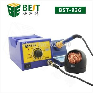 F130 Anti static Soldering Iron Rework Station With Stand 110v best Bst 936
