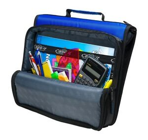 Binder Universal 3 ring Zipper Holds 13in Laptop With Shoulder Strap carry Case