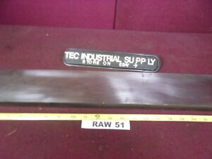 A2 A 2 Tool Steel Flat Bar Stock 1 X 3 1 8 X 24 1 2 Oversized Raw51