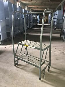 2 Step Rolling Ladders