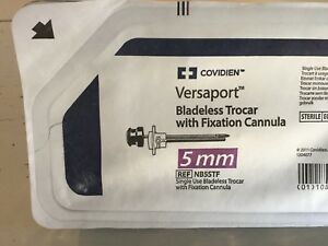 Covidien Versaport With Fixation Ref Nb5stf Exp 06 2021
