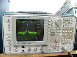 Tektronix 2784 Spectrum Analyzer 40 Ghz With Warranty