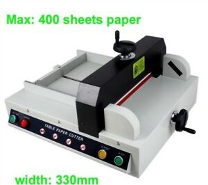Heavy Duty A4 Size Desktop Automatic Electronic Paper Cutter Stack Paper Cutt Ig