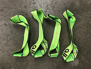4 pack Replacement 8 point Dogbone Straps Rollback Tie Down Flatbed Tow Truck