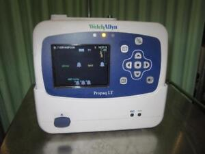 Welch Allyn Propaq Lt Vital Signs Monitor With Cradle Battery