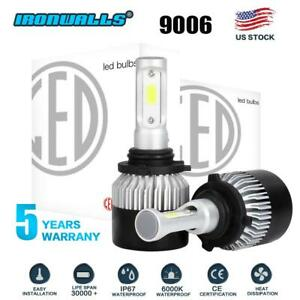 Ironwalls 9006 Hb4 Led Headlight Bulb Kit Low Beam 6000k 1320w 198000lm Lights