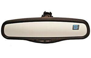 Rear View Mirror Chevy Gmc Tahoe gntx 177 Ie13 010103 dual Temperature Compass