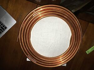 Us Brass And Copper Soft Copper Tubing Alloy 5 8 O d X 50 Brand New