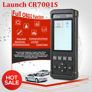 Launch Cr7001s Vii Crp123 Obd2 Code Reader Scanner Auto Diagnostic Scan Tool