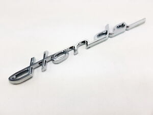 Logo Honda Chrome Modern Classic Car Decal Badge For Honda Chaly Dax S600 S800