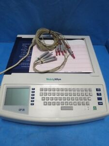 Welch Allyn Cp 20 Interpretive Ecg System With Patient Leads