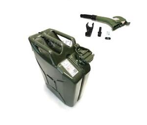 Wavian Nato Style Jerry Can 20l 5 Gal European Military Spec With Spout New