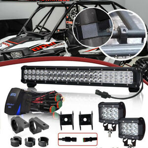 23inch Led Work Light Bar Combo For Atv Offroad Jeep Truck Ford 22 23