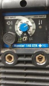 Miller Maxstar 140 Str Portable Tig Stick Welding Welder Only Defective As is