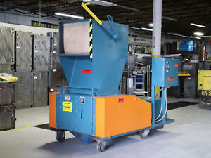 Granulator Ls Systems 40hp 17 X 28 Selfcontained Blower Discharge