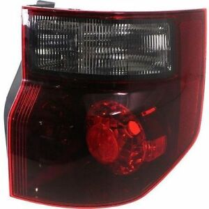 Tail Lamp Light Right Passenger Side Fits 2007 2008 Honda Element Sc Model