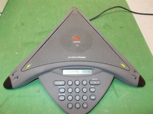 Polycom Soundstation Premier 2201 01900 001 2 Mics Wall Module Remote