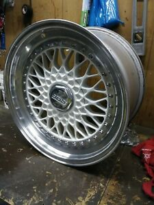 Jdm Bbs Rs Wheels 17x9 5x114 3 Bolt Pattern