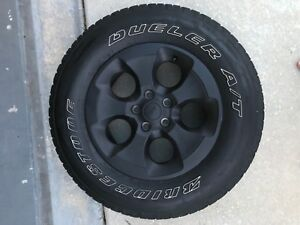 2007 2018 Jeep Wrangler Wheels And Tires X5