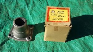 Oem 1955 1962 Cadillac 331 365 390 Engine Water Outlet Nos