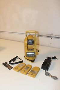 Topcon Cts 2 Digital Theodolite Transit Total Station Survey Surveying
